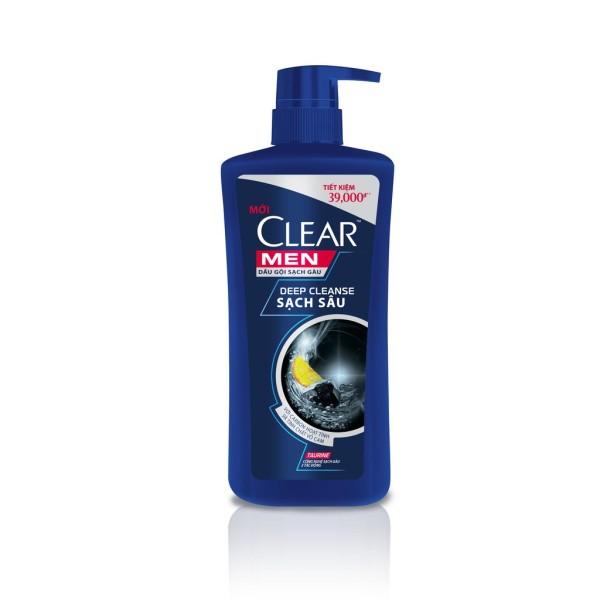 Dầu Gội Clear Men Deep Cleanse Chai 650G giá rẻ