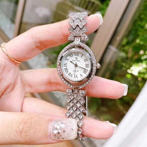[Giảm 20k cho đơn từ 40k] Đồng hồ nữ chính hãng Royal Crown 4610 bán chạy
