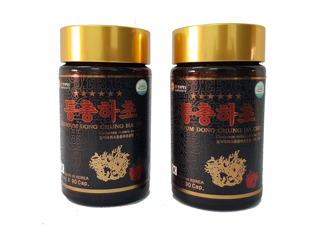 Sante365 - Thực phẩm chức năng: Combo 1 Hộp gỗ Đông Trùng Hạ Thảo + Kèm 1 Hộp Kẹo Mềm Hồng Sâm 200g nhập khẩu