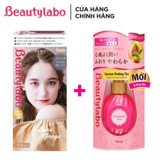 Combo Kem Nhuộm Tóc Thời Trang Beautylabo Vanity 80ml và Serum Dưỡng Tóc Beautylabo 120ml thumbnail