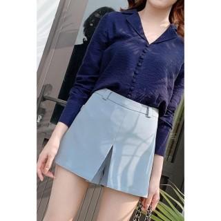 Quần short nữ xẻ vạt SVA0117 20AGAIN thumbnail
