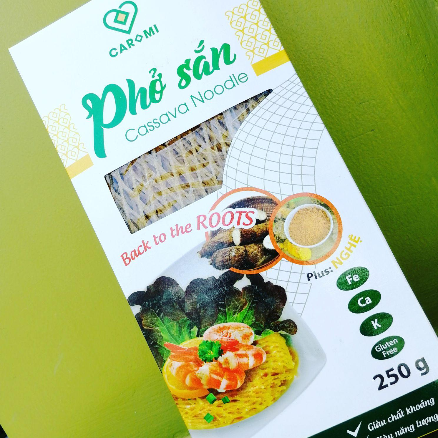 Caromi Noodles For Weight Control By Phở Sắn Caromi
