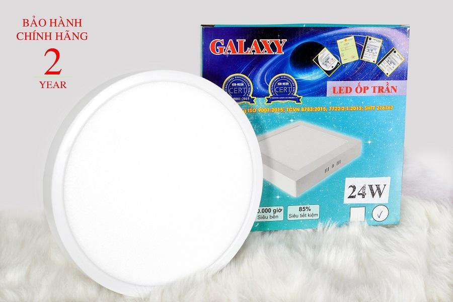 Combo 2 bóng đèn ốp nổi 24W Galaxy chính hãng - Bảo hành 2 năm