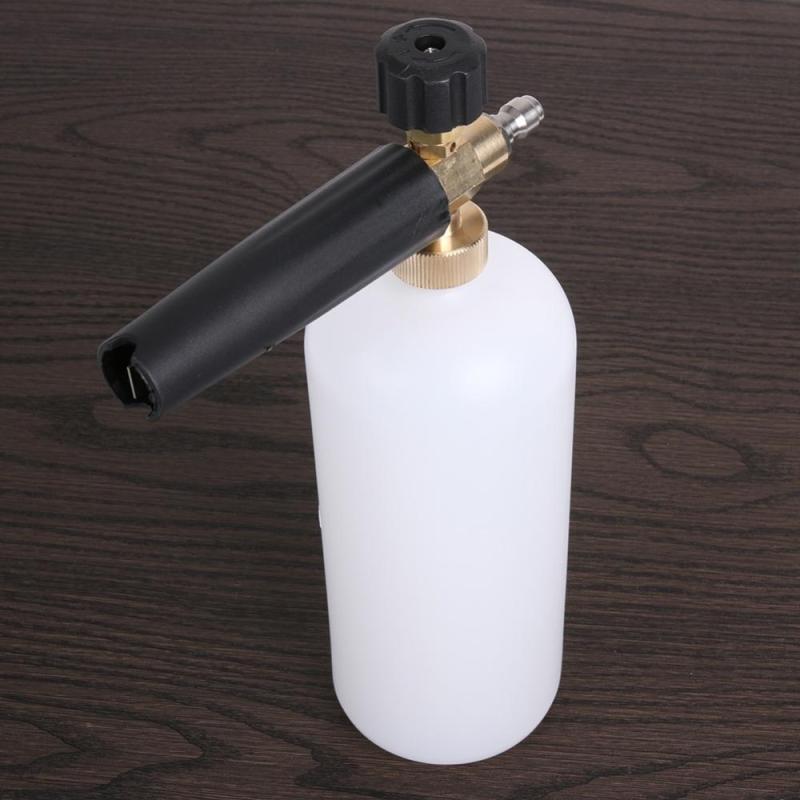 Bình phun tạo bọt tuyết dùng cho máy bơm xịt rửa xe ô tô, xe máy, đầu nối nhanh ( Đầu S11)