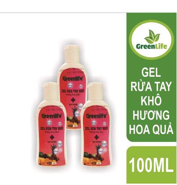 Nước rửa tay-gel rửa tay khô greenlife sinh học-chai rửa tay khô diệt khuẩn bảo vệ sức khỏe, hàng greenlife bảo đảm an toàn chất lượng chai 100ml/500ml