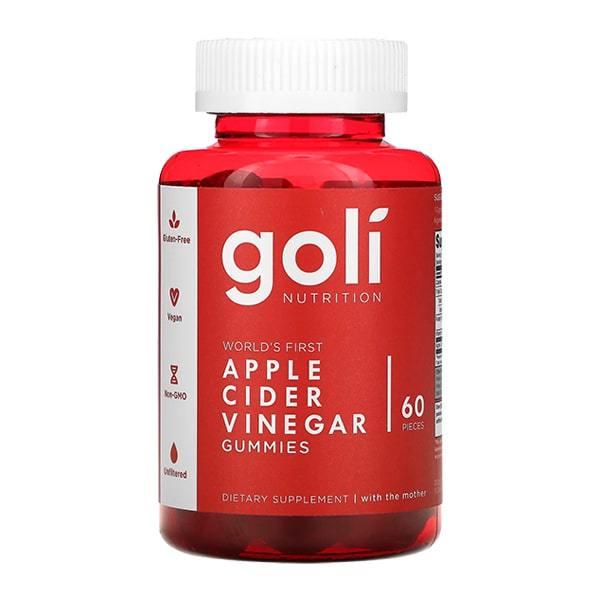 Kẹo dẻo giấm táo Goli Apple Cider Vinegar 60 Gummies