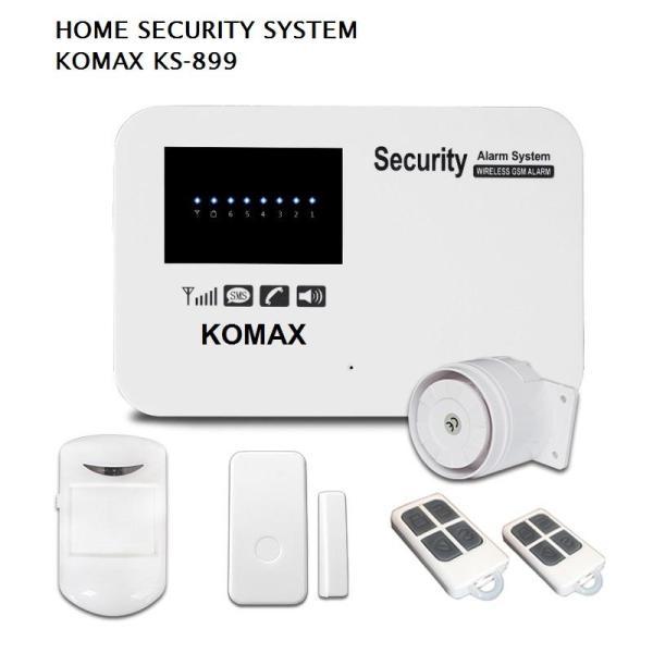 Hệ thống báo động không dây dùng SIM KOMAX KS-899 dùng hệ điều hành Android, IOS