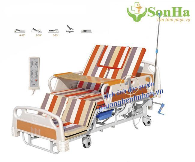 Giường y tế điện 10 chức năng chính hãng