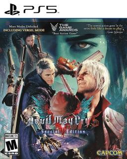 [PS5-US] Đĩa game Devil May Cry 5 Special Edition - PlayStation 5 thumbnail