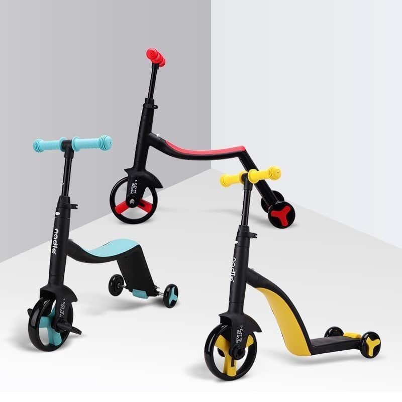 Mua Xe Trượt Scooter Nadle 3 Trong 1-Xe Trượt Trẻ Em Đa Năng Tiện Lợi Dễ Sử Dụng Với Siêu Xe 3 Chức Năng Trong 1, Scooter, Chòi Chân, Ba Bánh Cho Bé-Thiết Kế Thông Minh-An Toàn-Tiện Lợi, Tăng Cường Vận Động Theo Từng Giai Đoạn