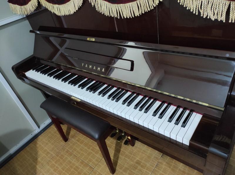 Đàn Piano Cơ Yamaha U3D Nâu Đỏ Cao Cấp