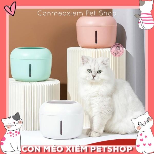Máy Lọc Nước Cho Chó Mèo Pakeway Bi Series Tự Động 2.5L- Đài Phun Nước Cho Thú Cưng Thông Minh Simple Pet Shop