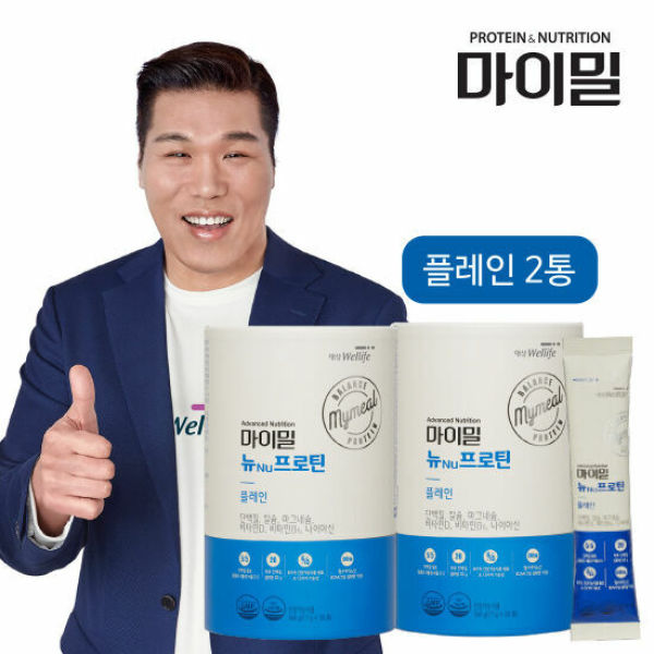 [Bổ sung năng lượng protein dạng bột] Daesang Wellife/ My Meal NU Protein Plain