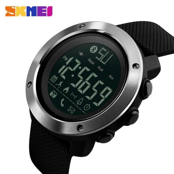 Đồng hồ thể thao SKMEI đồng hồ kỹ thuật số chống nước Bluetooth thông minh 1285 1287 bán chạy