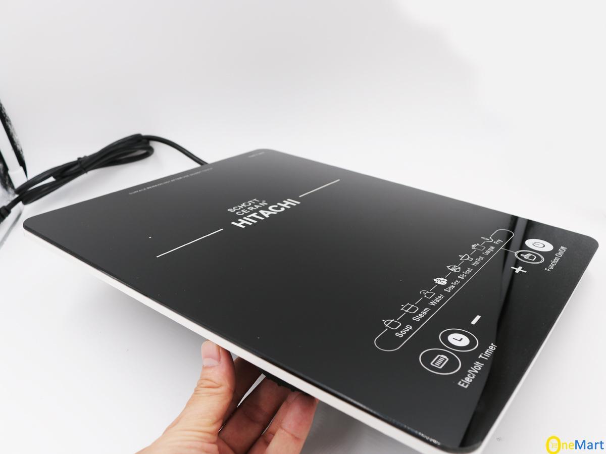 [Tặng Nồi Lẩu] Bếp Từ đơn Hitachi Model DH-15T7 (màu đen) Siêu Bền Đang Khuyến Mãi