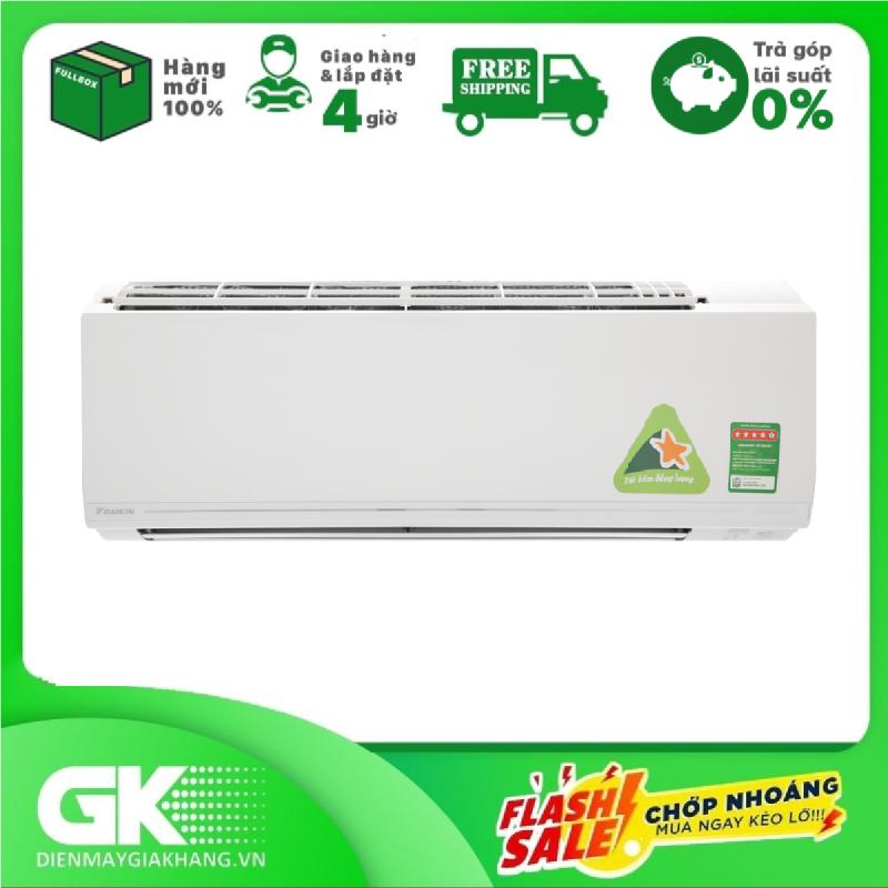 TRẢ GÓP 0% - Máy lạnh Daikin Inverter 2.5 HP FTKC60UVMV Mẫu 2019- Bảo hành 12 tháng