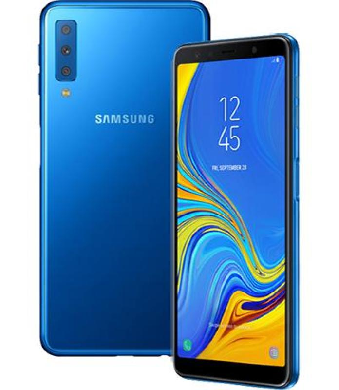 Điện Thoại Samsung Galaxy A7 2018 (128GB/ RAM 6GB) Màu Xanh