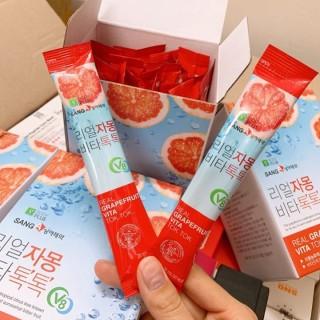 [1 gói] trà bưởi nước ép bưởi giảm cân đẹp da hàn quốc, sản phẩm tốt với chất lượng, độ bền cao và được cam kết sản phẩm y như hình thumbnail