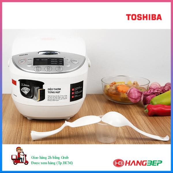 Nồi cơm điện tử Toshiba 1.8 lít RC-18DH2PV ( model mới 05.2020)