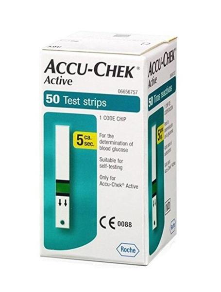 Nơi bán Que thử đường huyết Accu check Active 50