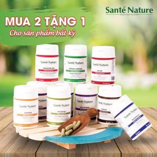 Viên uống giúp hỗ trợ chức năng gan Santé Nature Détox 2