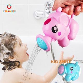 Đồ chơi mùa hè, đồ chơi bồn tắm cho trẻ em từ 1 tuổi trở lên, đồ chơi nhà tắm rót nước hình con voi ngộ nghĩnh nhựa ABS cao cấp thumbnail