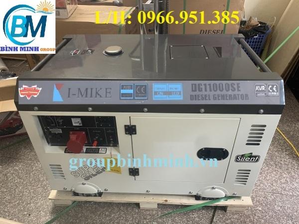 Máy Phát Điện Chạy Dầu I-MIKE 10KVA DG 11000SE 3 Pha