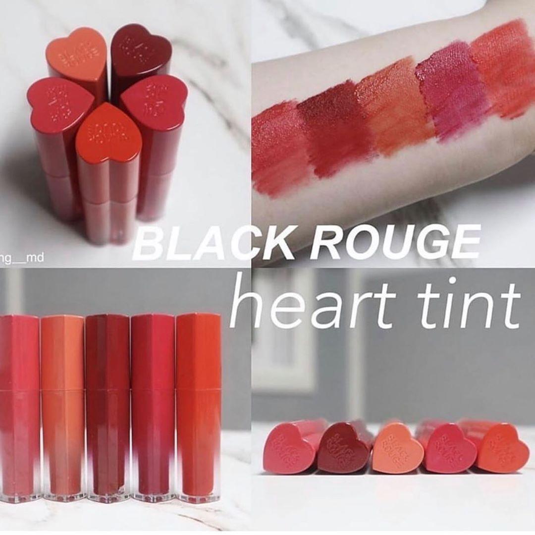 Son kem lì Black Rouge Color Lock Heart Tint