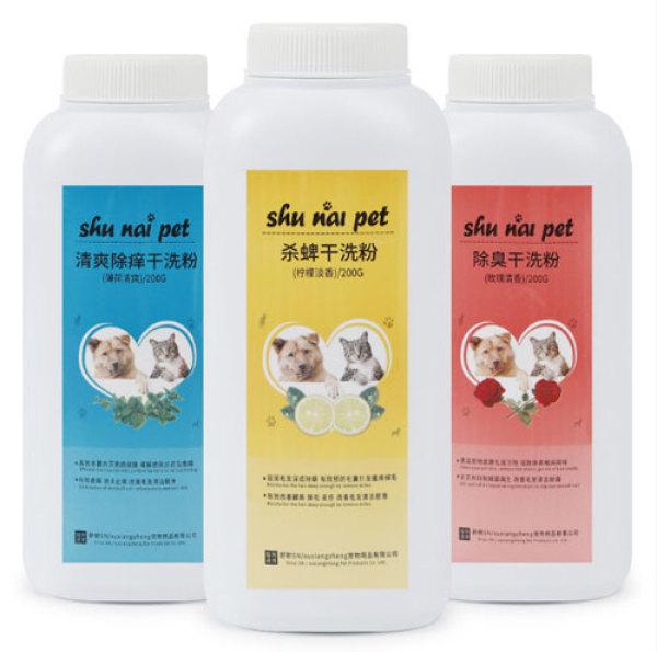 Sữa Tắm Khô Làm Sạch & Khử Mùi Dành Cho Chó Mèo