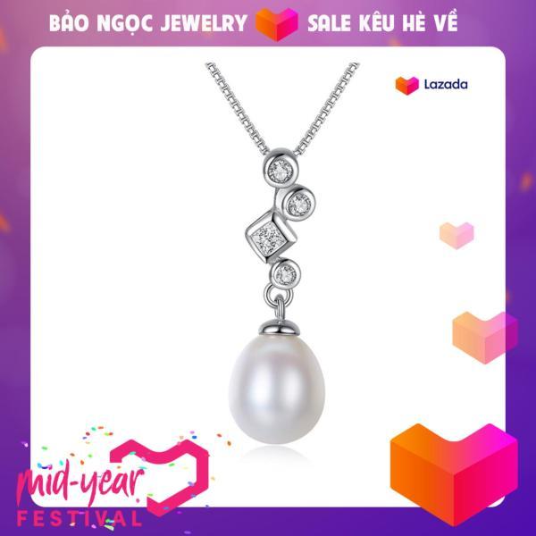 Dây Chuyền Ngọc Trai Cao Cấp DB2349 Cỡ Hạt 7x9 Bảo Ngọc Jewelry