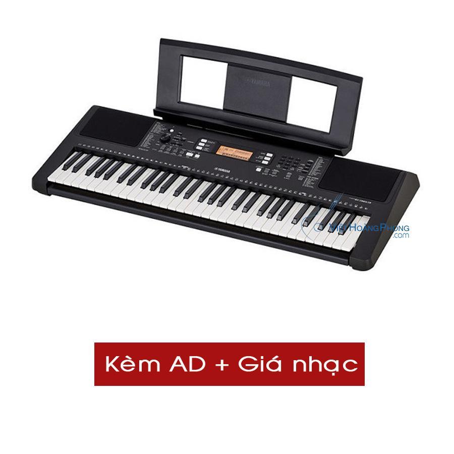 Đàn Organ Yamaha PSR-E363 (Kèm AD + Giá nhạc) - Organ cho người mới học - Việt Hoàng Phong