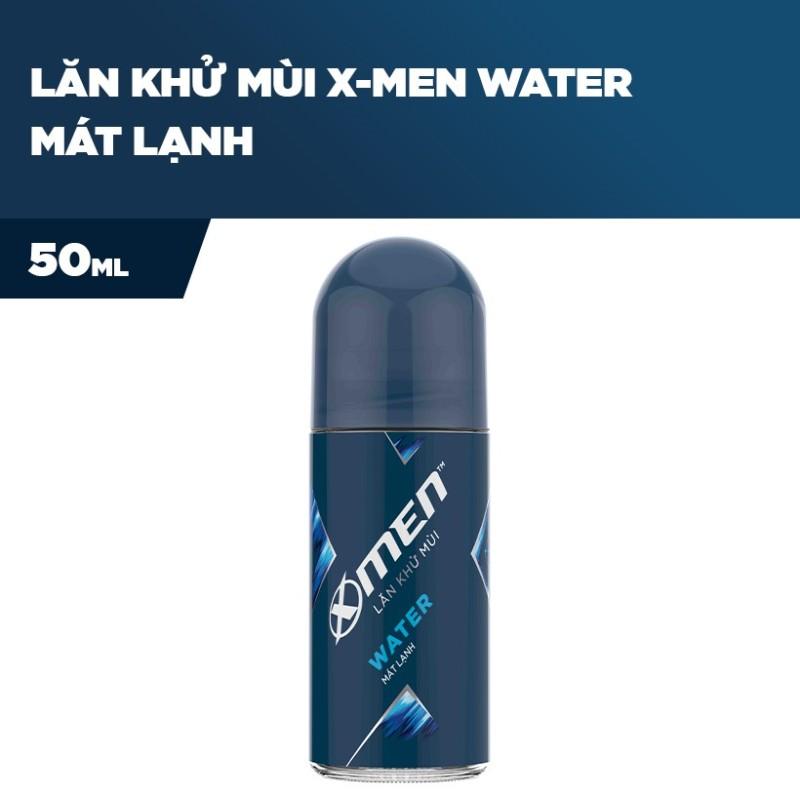X Men -   Lăn Khử Mùi X-Men Water 50ml  - Giá Sỉ cao cấp