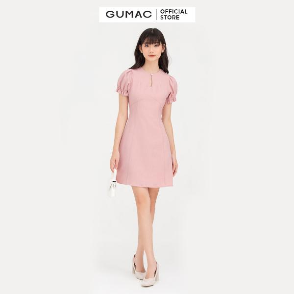 Nơi bán Đầm nữ  8 mảnh rã cúp  DB7101 mẫu mới GUMAC