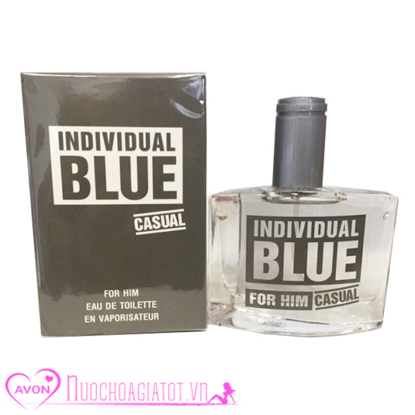 NƯỚC HOA NAM AVON BLUE NAM CASUAL FOR HIM 50ML PHILLIPINE MÀU ĐEN