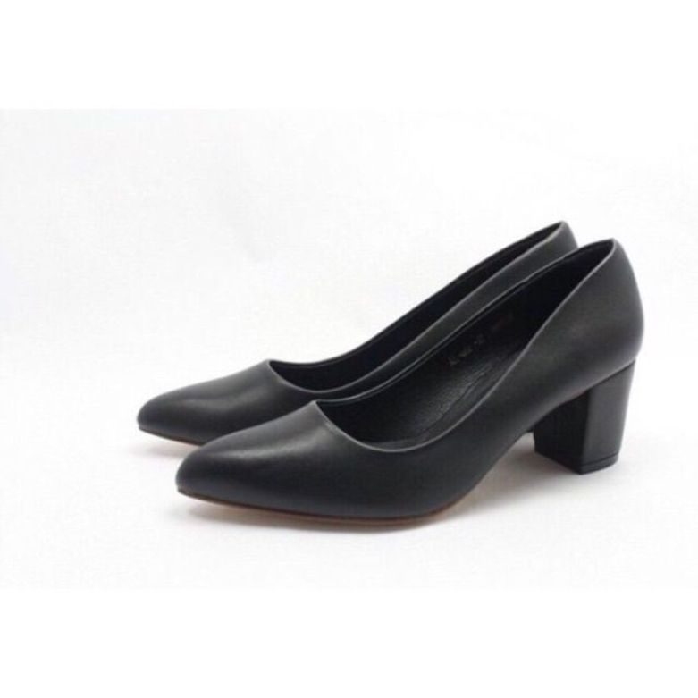 Giày cao gót 5p da mềm giá rẻ