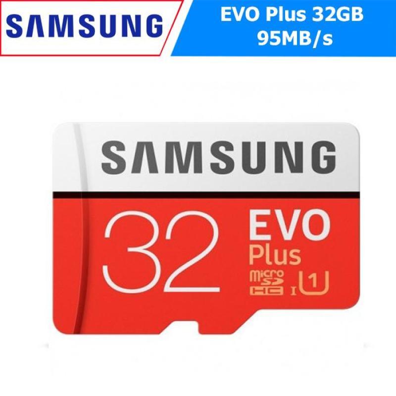 Thẻ Nhớ MicroSDHC Samsung EVO Plus 32GB 95MB/s (New 2018) - Hãng Phân Phối Chính Thức