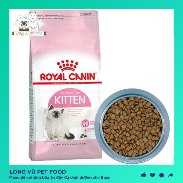 Thức ăn cho mèo nhỏ tuổi Royal Canin Kitten cho mèo nhỏ tuổi, hạt cho mèo royal canin