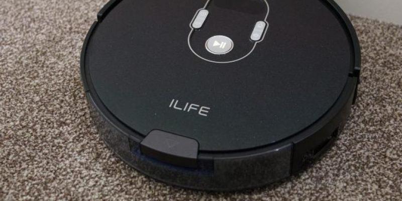 Robot hút bụi iLife A7, Gen 3 CyclonePower Wifi điều khiển qua điện thoại