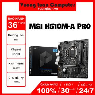 Mainboard MSI H510M-A PRO thumbnail