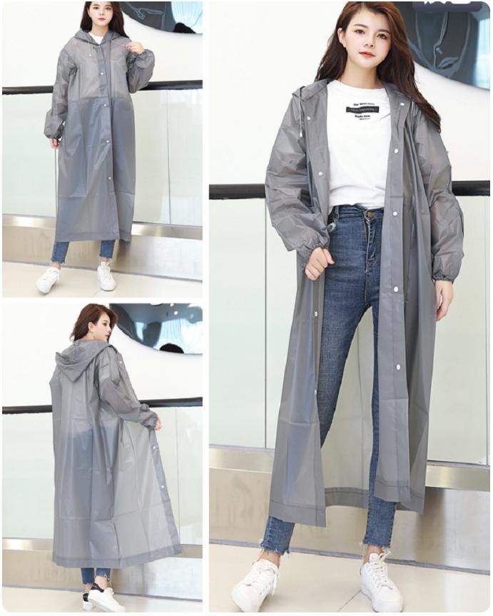 Áo mưa EVA thời trang cao cấp (Nhiều màu) Nhật Bản