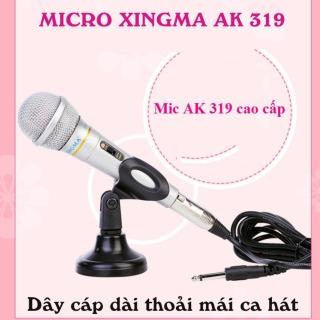 Mit karaoke mini, Hát karaoke bằng mic, Micro Karaoke Có Dây XingMa AK319, hàng chuẩn nhập khẩu công ty, Kiểu Dáng và Màu Sắc Đẹp, Âm Thanh Đỉnh Cao Chuyên Nghiệp, Giảm Giá Nhanh 50% Hôm Nay , Bảo Hành Uy Tín 1 Đổi 1 bởi TechStore, M183 thumbnail
