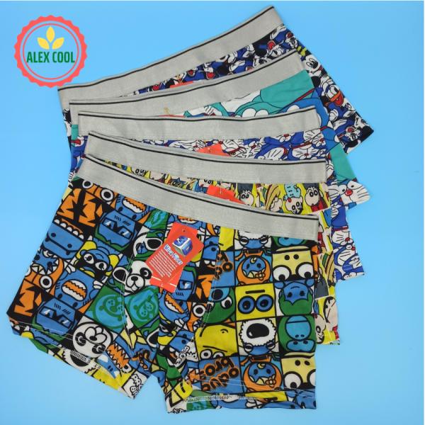 Nơi bán Combo 4 quần lót nam thun lạnh hoạt hình cao cấp 3d, sản phẩm đa dạng về mẫu mã, kích cỡ, màu sắc, chất lượng tốt, cam kết hàng nhận được giống với mô tả