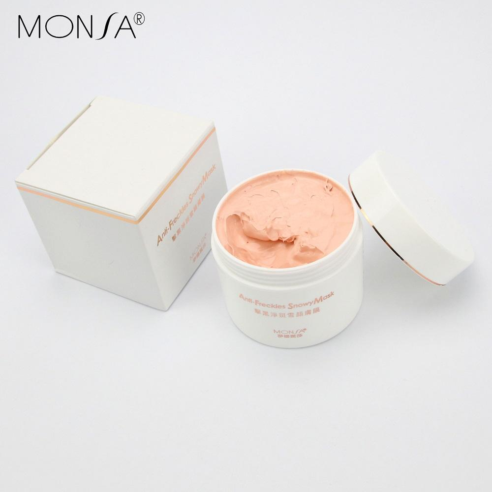 Kem Face Giảm Nám Ngăn Ngừa Tàn Nhang Monsa Anti Freckles Snowy Mask 100g nhập khẩu