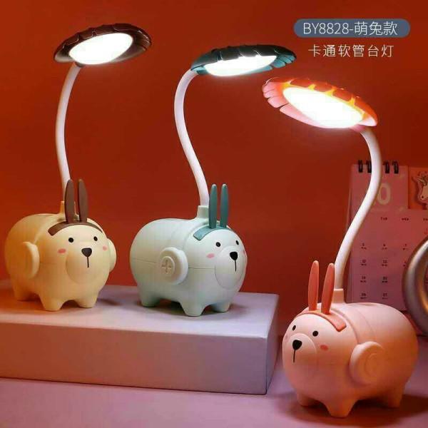Đèn Học Để Bàn Mini Có Thể Gập Xoay 360 Độ Hình Thú