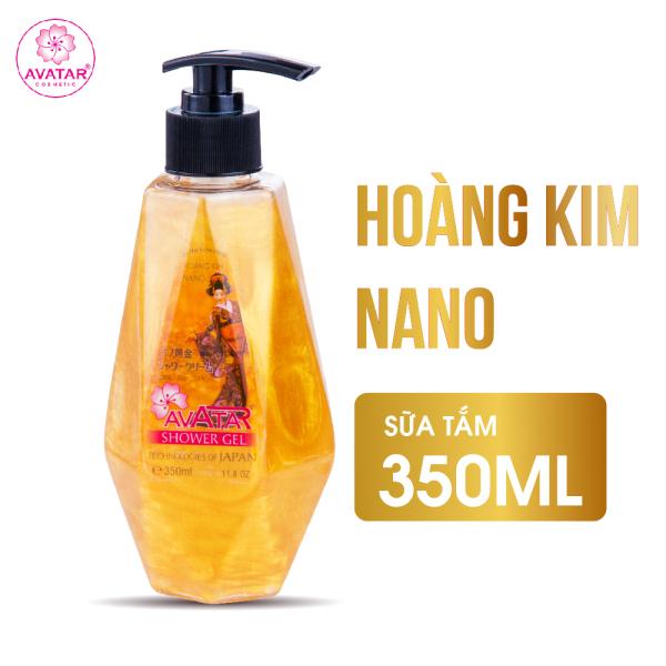 Sữa tắm Hoàng Kim Nano Avatar 350ml - Loại bỏ hắc tố cho làn da sáng đều màu (thích hợp cho cả gia đình)