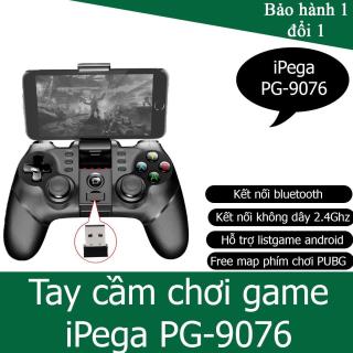 Tay cầm chơi game iPega 9076 hỗ trợ android ios và máy tính không dây Phiên bản khác của Máy Chơi Game Cầm Tay G4 Sup Game Box 400 in 1 Tay cầm chơi game máy chơi game nút bấm chơi game thumbnail