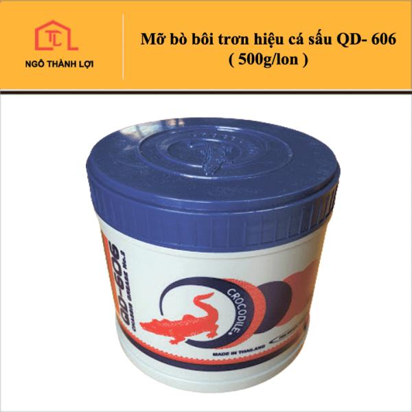 Mỡ Bò Bôi Trơn Hiệu Cá Sấu Thái QD-606 ( 500g/lon ) - Mỡ bò