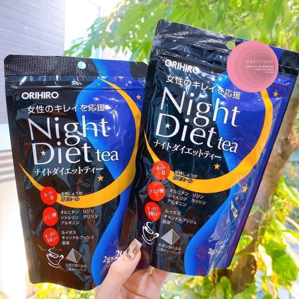 Trà giảm cân Nhật Orihiro Night Diet tea