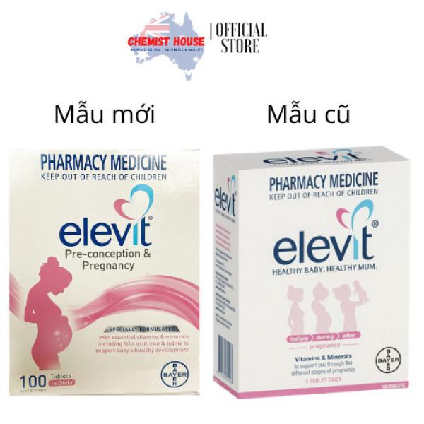[HCM][Hàng Chuẩn ÚC] Elevit - Vitamin tổng hợp cho bà bầu 100 viên (100 ngày)