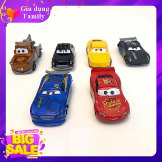 COMBO 4 Xe Mô Hình, Xe Đồ Chơi Cho Bé Hãng Disney Nhiều Màu Sắc, Chất Liệu Nhựa An Toàn Cho Bé thumbnail